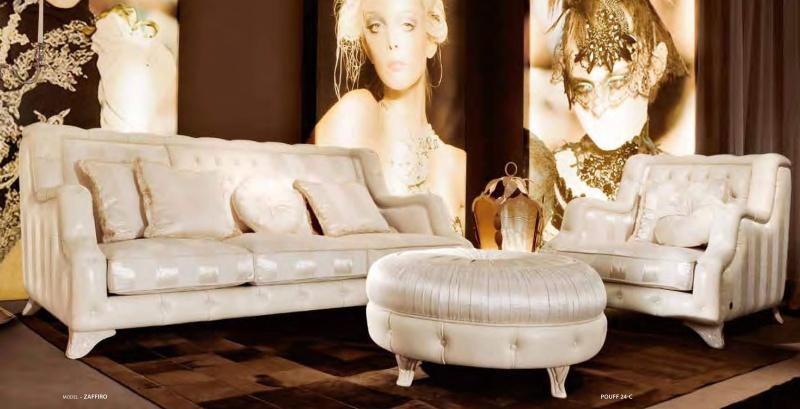 Мебель гостевая белая - арт деко News 2011