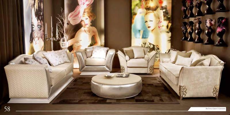 Гостиная в стиле арт деко цвета слоновая кость News 2011