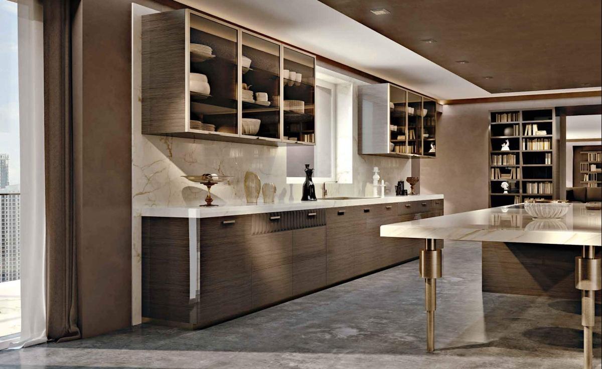 Кухня в стиле арт-деко Signorini Coco - Daytona (Сигнорини Коко Дайтона)