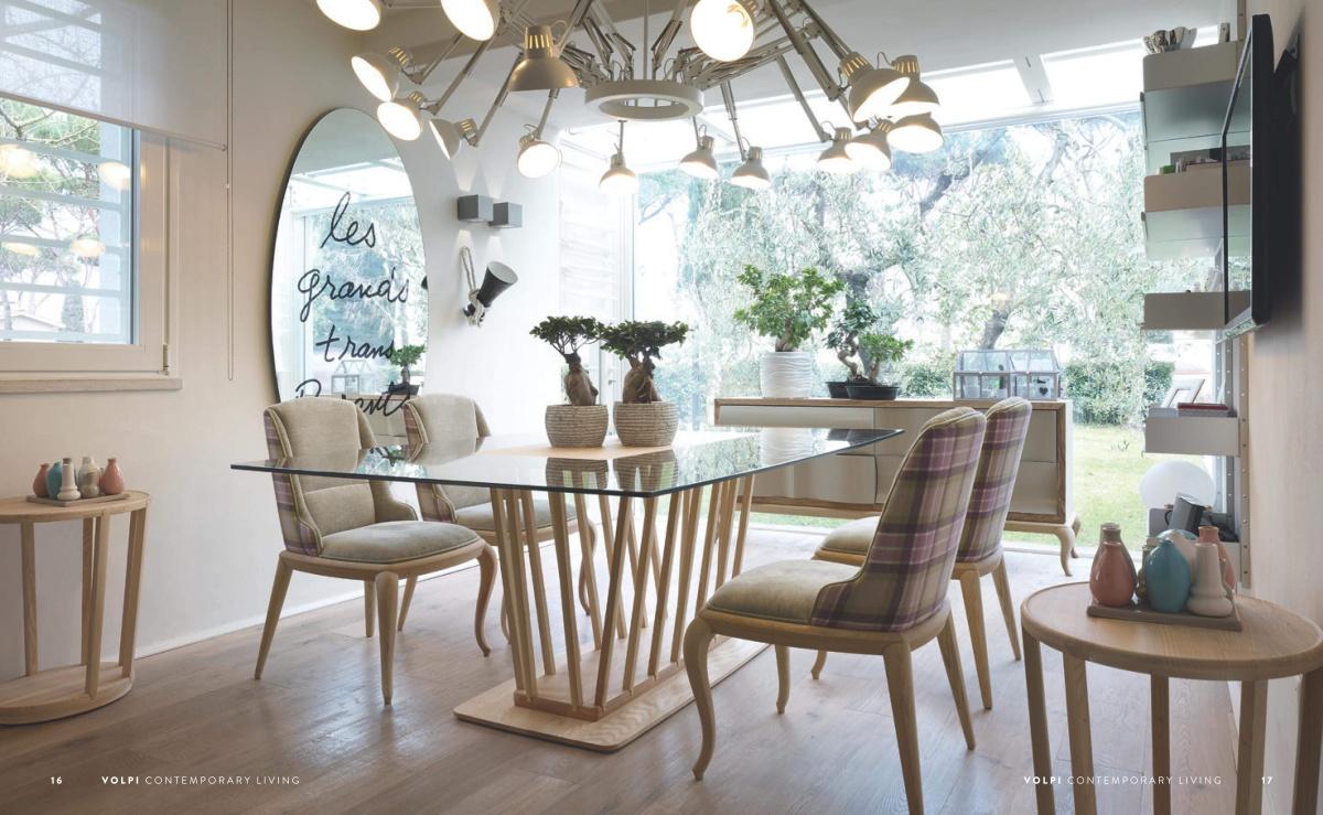 Стол со стульями Volpi - Contemporary