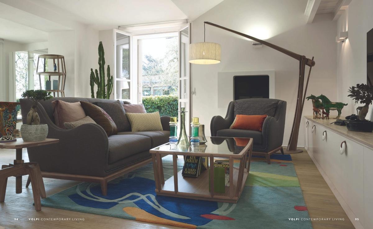 Мягкая мебель Volpi - Contemporary