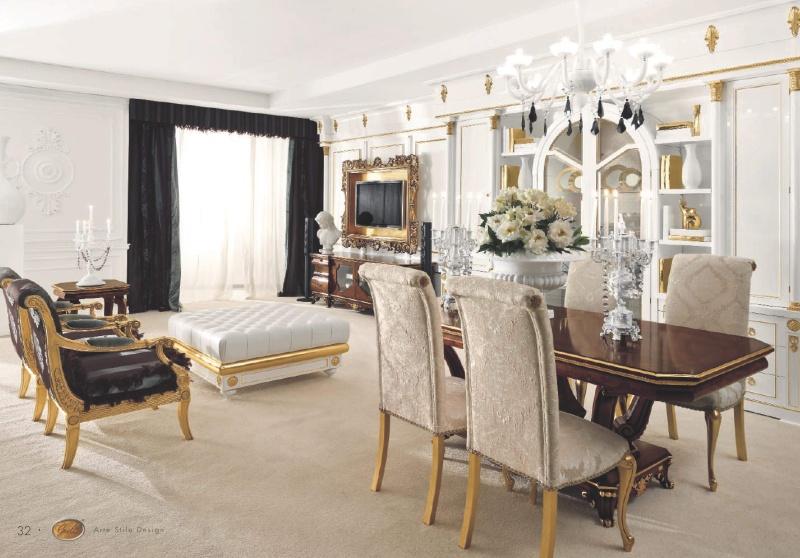 Композиция столовой мебели Roma