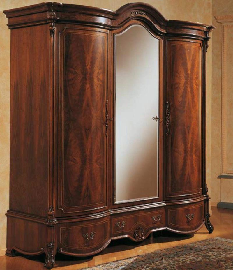 Гардеробный шкаф с резным декором The Book