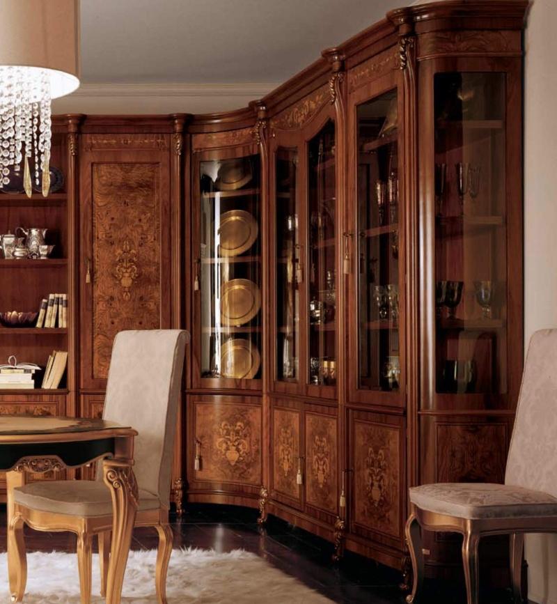 Классическая итальянская столовая мебель The Book
