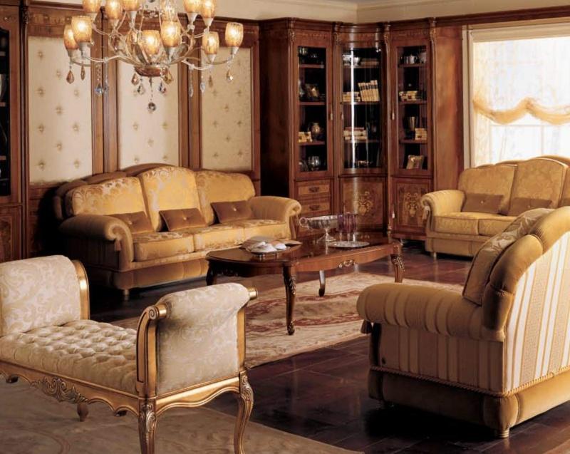 Комплект мягкой гостинной мебели The Book