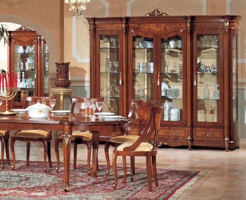 Классическая мебель для столовой The Book