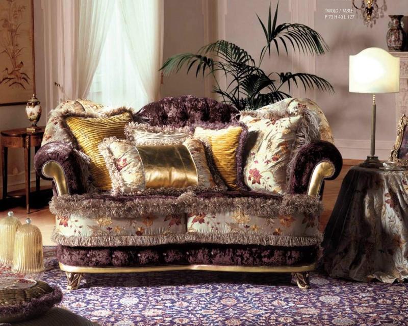 Элитнный гостиный диван в классическом стиле A Linea