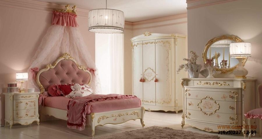 Мебель для детской девочки - AGM Orleans
