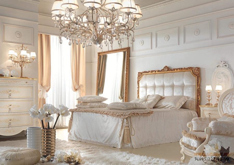 Мебель для спальни в светлом цвете Antonelli Moravio Belvedere