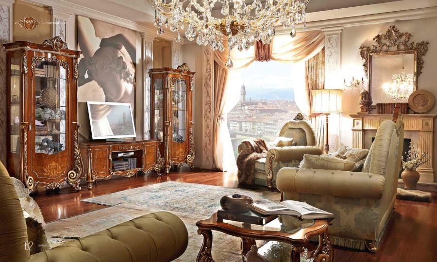 Композиция для телевизора - мебель Barnini Oseo Firenze