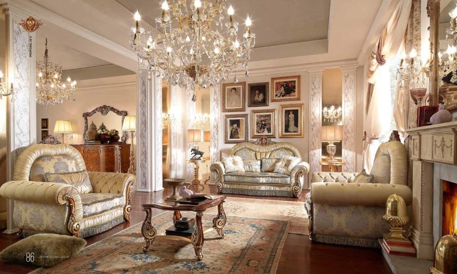 Мягкая мебель в классическом стиле - Barnini Oseo Firenze