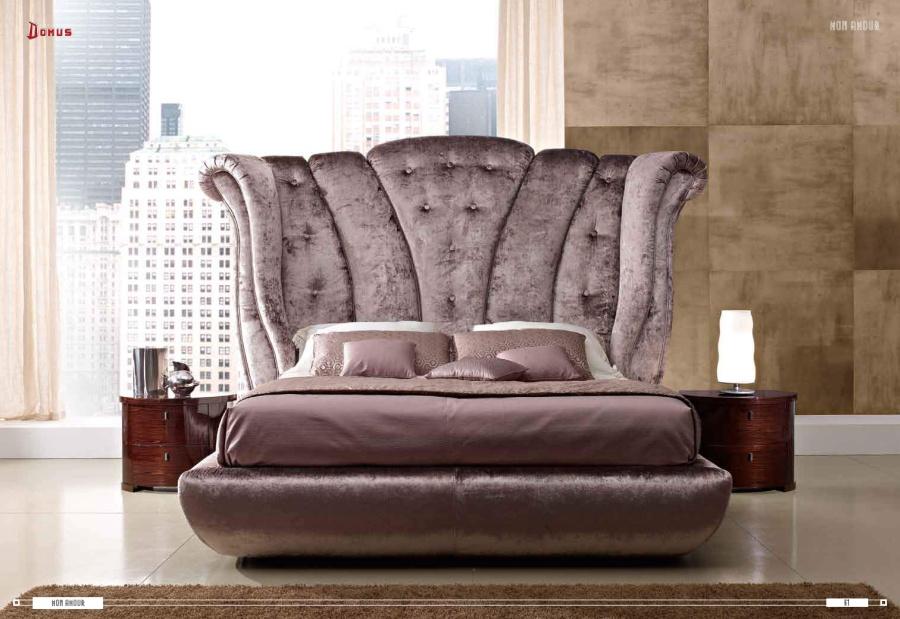 Кровать аметистового цвета Domus Mon Amour
