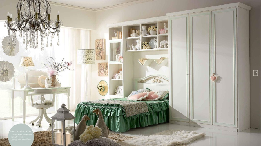 Классическая мебель для детской комнаты Ferretti e Ferretti Happy Night