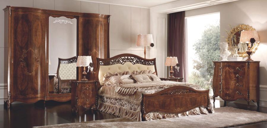 Спальня в отделке орех Signorini Coco Dolce Sogni