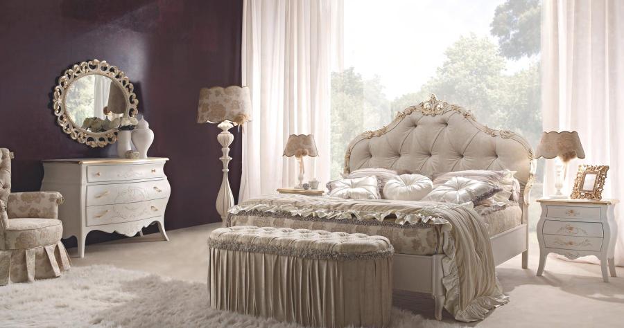 Кровать с мягким изголовьем Signorini Coco Gruppi
