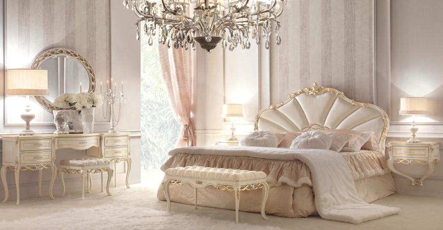 Кровать в кожаной обивке Signorini Coco Forever