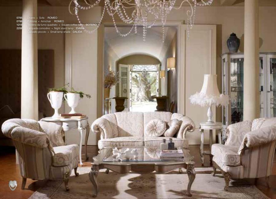 Диван и кресла от фабрики Volpi Romeo