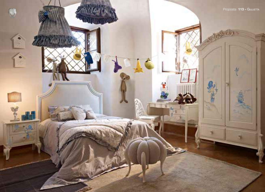 Детская мебель с росписью Volpi Giulietta