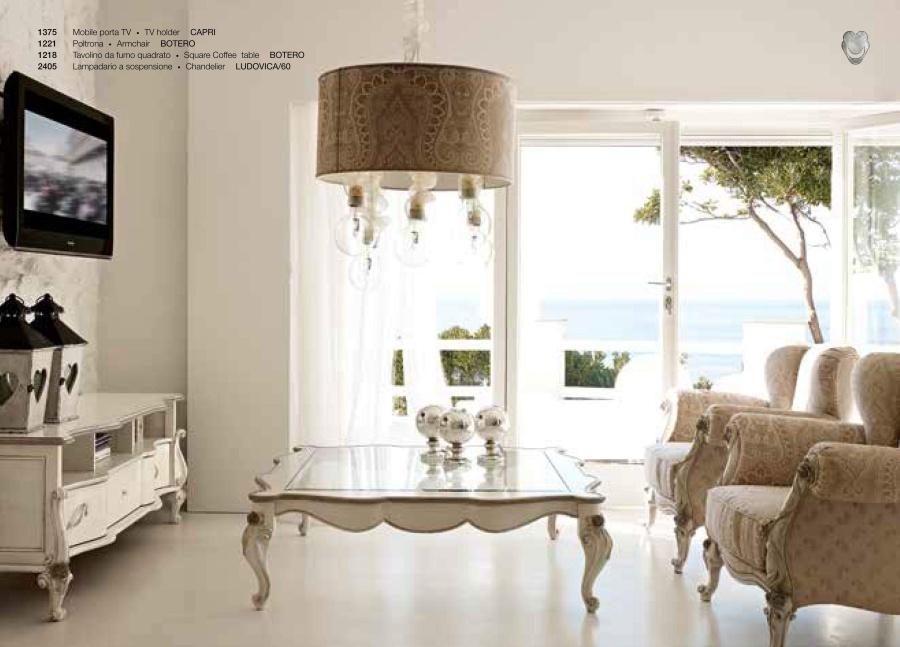 Мебель для ТВ в стиле арт-деко Volpi Capri