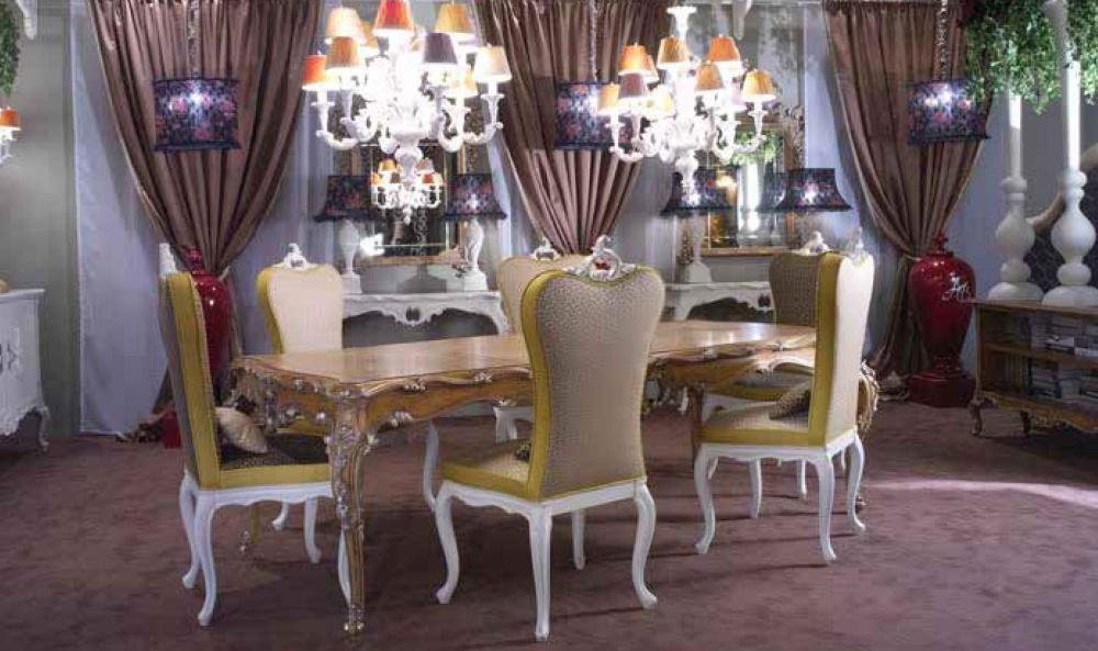 Стол со стульями Antico Borgo - Decape