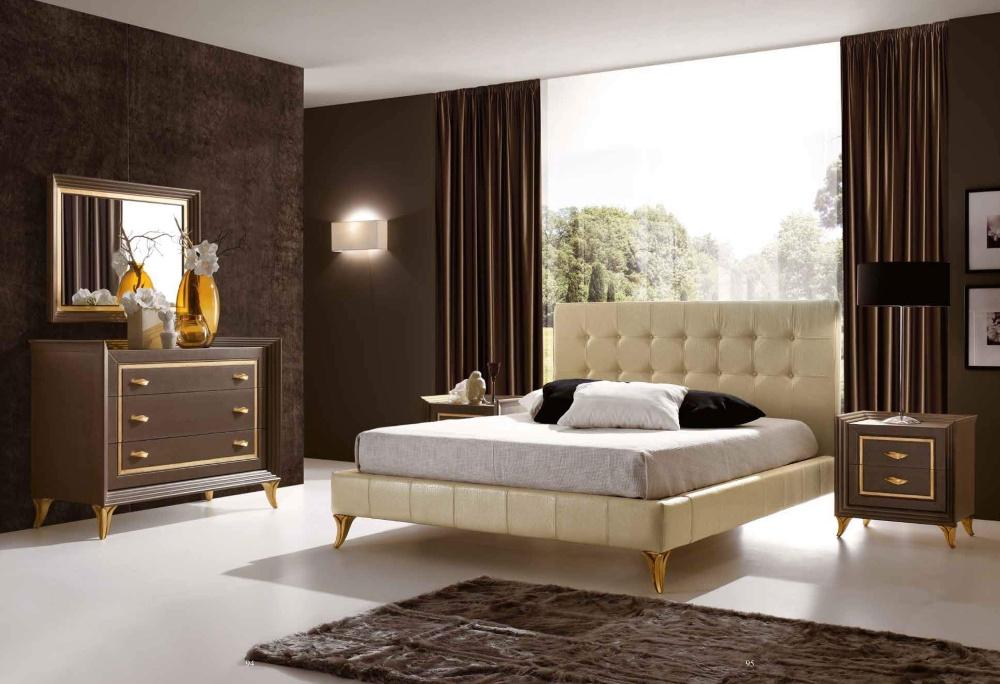 Спальня с золотым декором Ferretti e Ferretti - Today