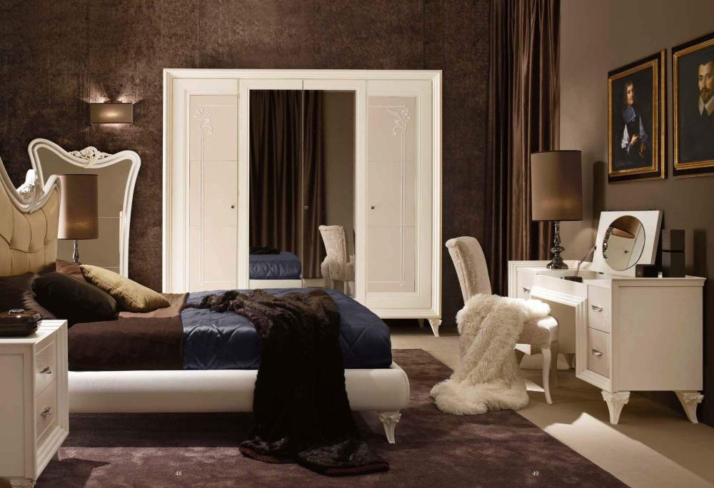 Спальня в цвете слоновая кость Ferretti e Ferretti