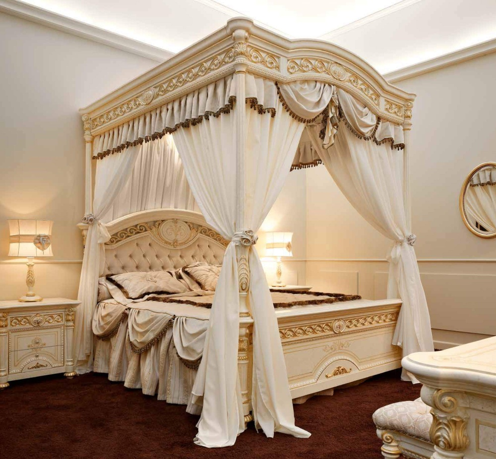 Кровать с балдахином Valderamobili - Luigi XVI
