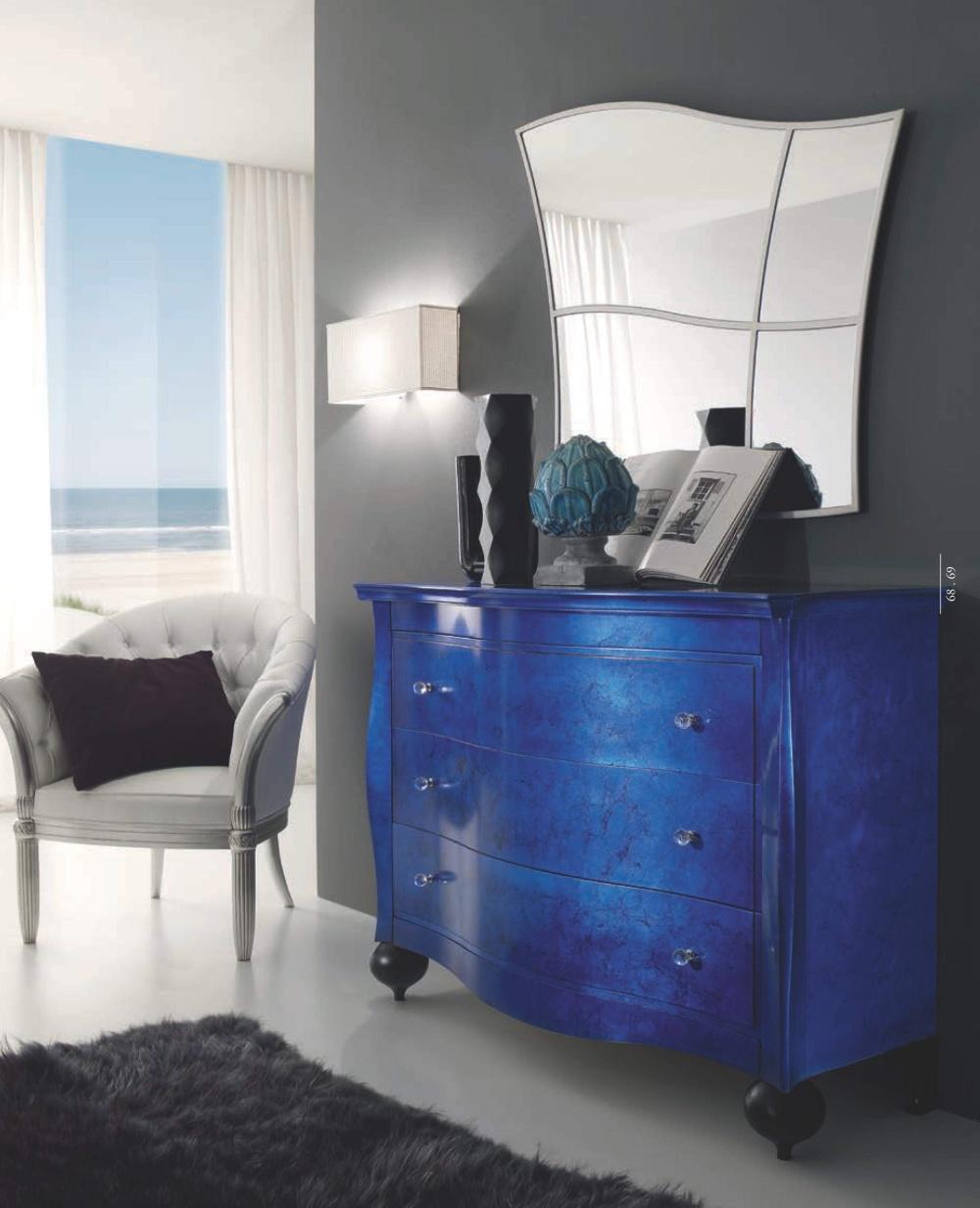 Комод в синем цвете Ferretti e Ferretti - Regina di Fiori
