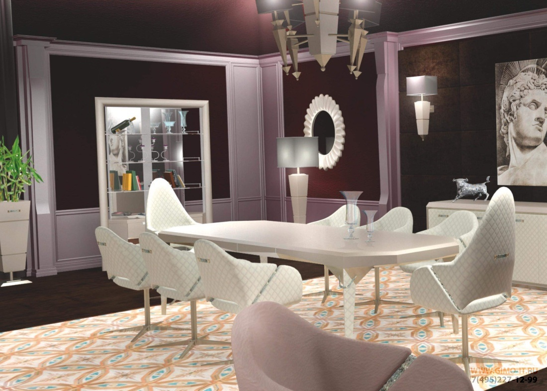 Стол со стульями Domus - Susanne
