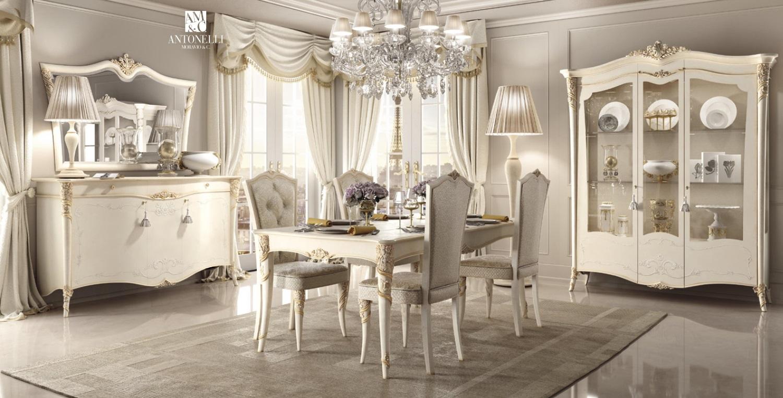 Стол со стульями Antonelli Moravio & C - Vittoria