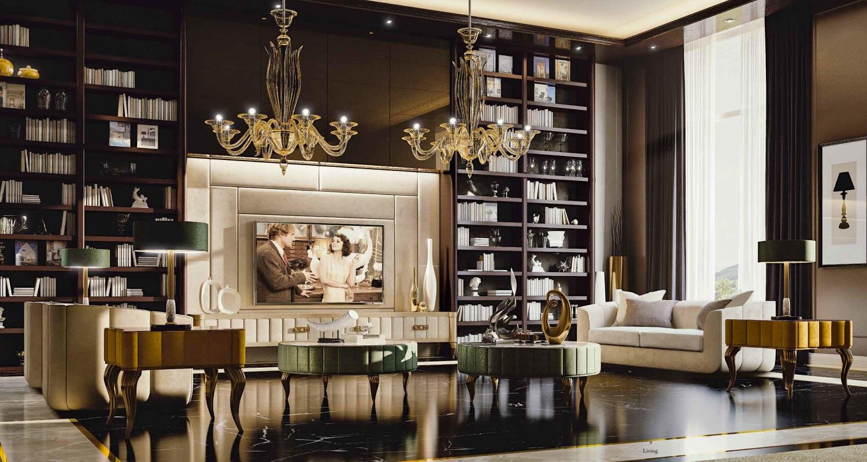 Мебель для гостиной Valderamobili - Cobalto